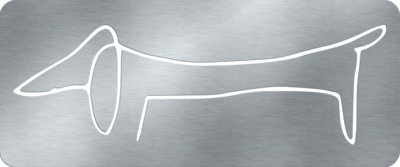 PICASSO TECKEL | WALLSHAPE MUURDECORATIE