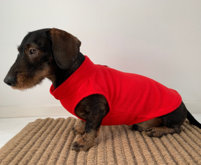 TECKEL TRUI | FLEECE ROOD