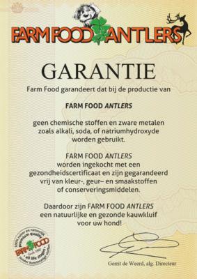 TECKEL KAUWBOT | HERTENGEWEI FARMFOOD