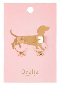 Teckel oorbellen Orelia